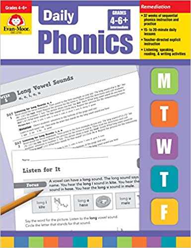 Daily Phonics Grade 4-6+
