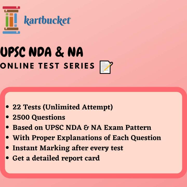 UPSC NDA & NA 2021