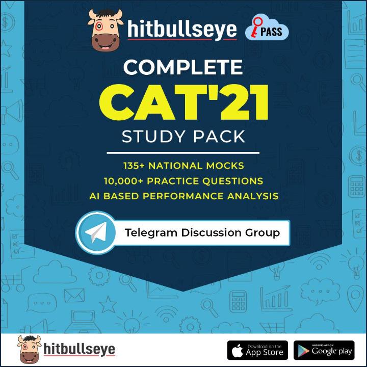 Hitbullseye- CAT'21 Study Pack