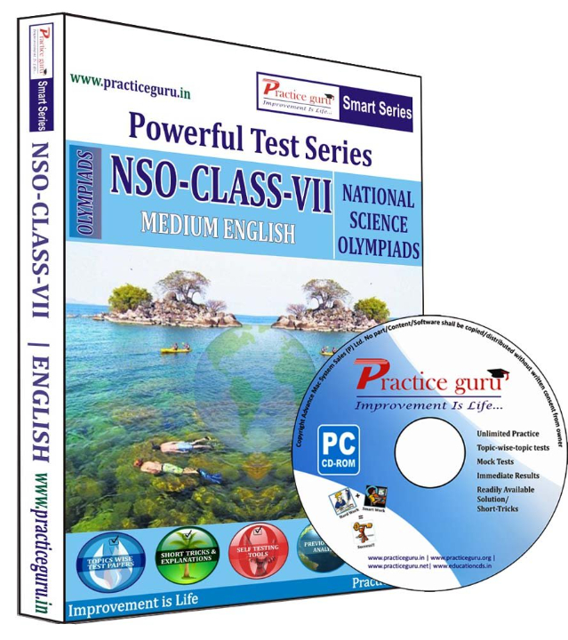 Practice Guru NSO Class 7 Test Series