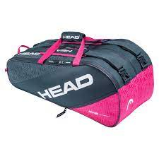 HEAD Elite 9R Supercombi Quality Tennis Kit Bag (Compartments: Two   Capacity: 9 Racquets)