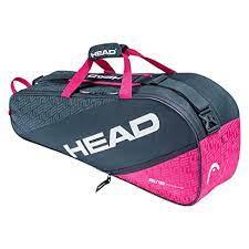 HEAD Elite 6R Combi Tennis Kit Bag (Compartments: Two   Capacity: 6 Racquets)