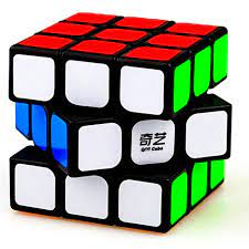 D ETERNAL QiYi Sail Speed Cube 3x3x3 Puzzle Game Toy 5.6Cm For 14 Years And Up ,Multicolor