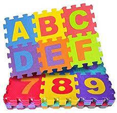 Alphabet Floor Puzzle for 1 Years, 36 Piece, Multicolour