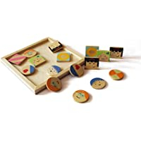 Shumee Wooden Beginner's Sudoku Puzzle for Kids (4 Years+) - '16' Pieces - Develops Logical Thinking & Critical Thinking