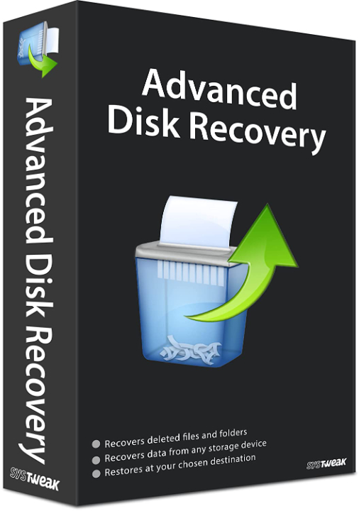 Systweak Advanced Disk Recovery Software