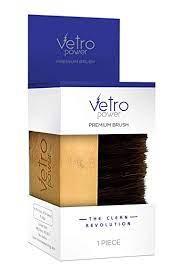Vetro Power Premium Unisex Shoe Brush (Brown)