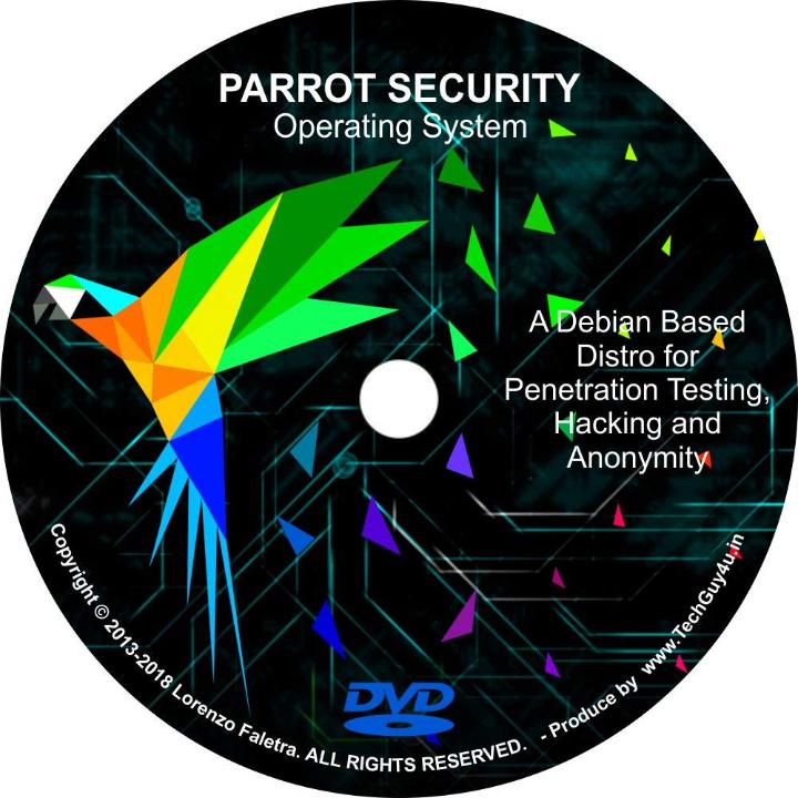 Parrot Security OS Pentesting