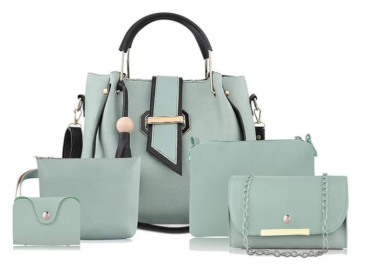 Care4u Handbag For Women And Girls COMBO SET OF 5