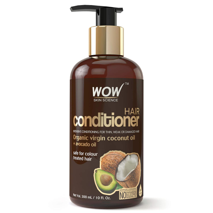 WOW Coconut, Avocado Oil No Parabens and Sulphate Hair Conditioner