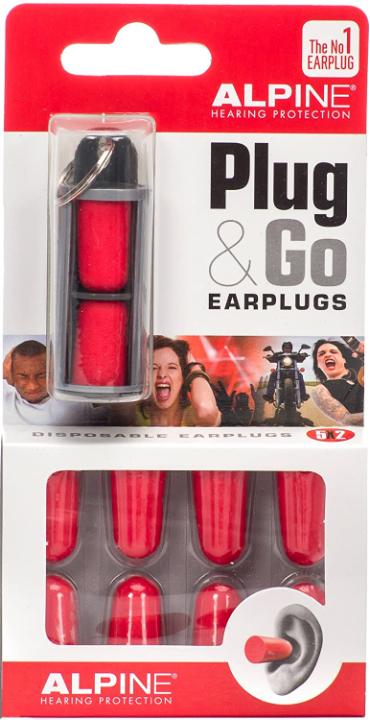 Alpine Hearing Protection Plug and Go Earplugs