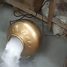 Dry Ice Pot