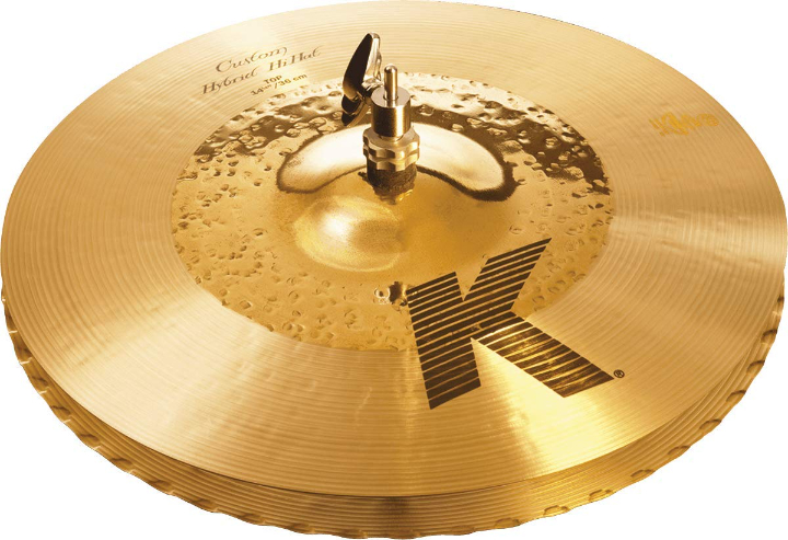 Zildjian K Custom Hybrid Hi Hat Cymbals Pair