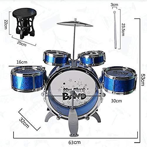 TITANIUM EDGE Music Jazz Drum Set