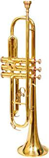 Musical Trumpet Bb tuned brass polish by S.A Trading Company comes with a durable carry case and a mouthpiece use for marching, concerts and other ceremonies