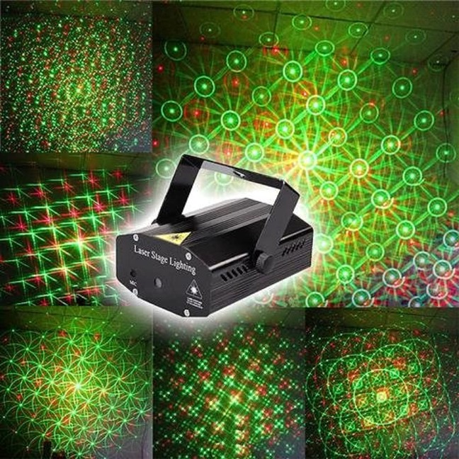 Unica Mini Laser Projector Stage Lighting