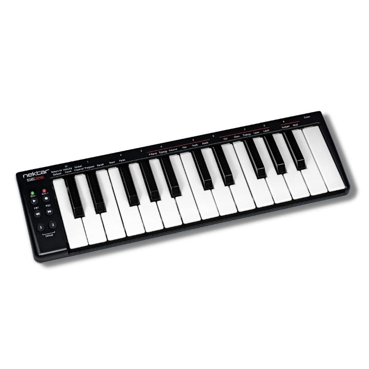 Nektar SE25 25-Key Velocity-Sensitive Portable USB Midi Keyboard
